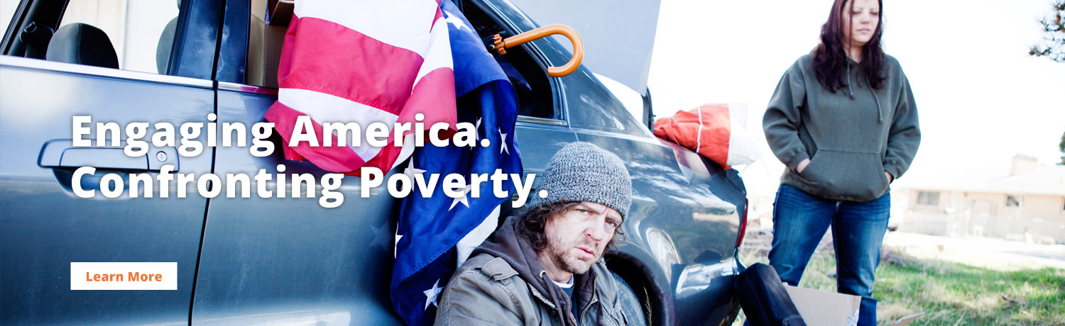 Engaging America. Confronting Poverty.